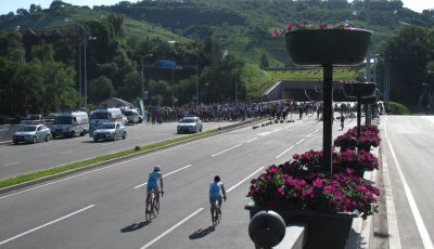 A bike rally in Almaty which I joined in 2010 to support Velo-Almaty in their call for bike-lanes.