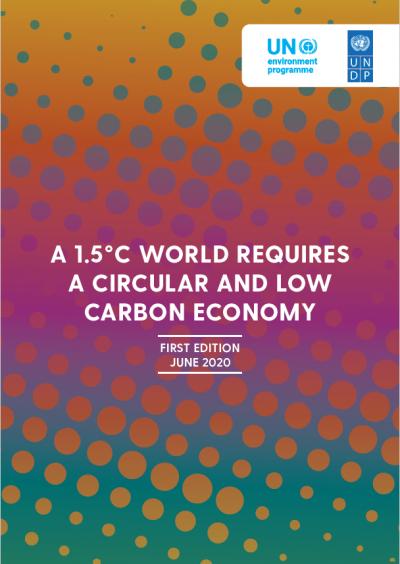 Circular economy NDC Paris Agreement UNDP Shifting Paradigms Enhancing ambition climate change mitigation adaptation UNDP UNEP UN Environment